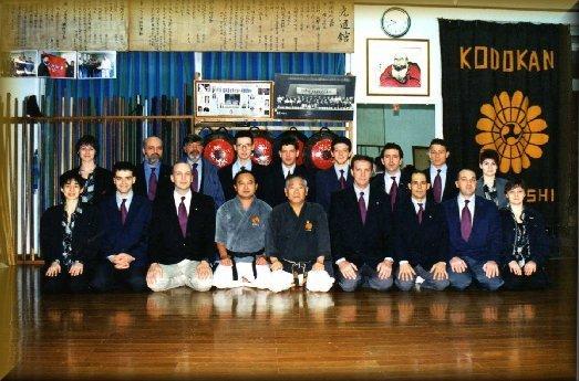 Dojo-Matayoshi-gruppo